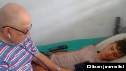 Reporta Cuba Orlando Fernández recibe atención médica