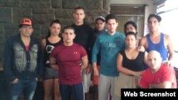 Estos son los diez cubanos que se encuentran en el Hotel Carrión, en Quito, que podrían ser deportados.
