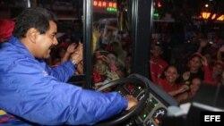 Nicolás Maduro, de chofer a candidato presidencial.