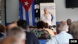 Celebran primer Coloquio del Presidio Político Cubano. Roberto Koltún.