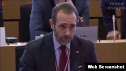El eurodiputado José Ramón Bauzá. (Captura de video/Twitte)