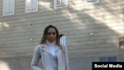 Kirenia Yalit Núñez, coordinadora de la Mesa de Diálogo de la Juventud Cubana. (FACEBOOK).