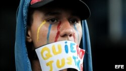 Oposición venezolana sigue en la calle ante instauración de Constituyente.