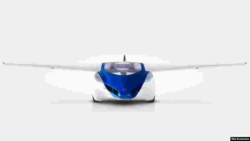 El prototipo Flying Roadster 3.0 de la compañía AeroMobil