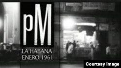 Fotograma de PM (1961), de Orlando Jiménez Leal y Sabá Cabrera Infante, primer documental censurado por el gobierno de Fidel Castro.