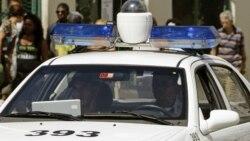 Pinareños protestan en la Estación de la Policía