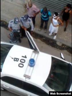 Arresto Maykel El Osorbo Abril 15 (Captura de Pantalla )