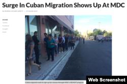Las clases vocacionales de Inglés del MDC se han convertido en una parada importante para los recién llegados de Cuba.