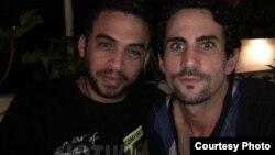 Héctor Luis Valdés Cocho y Nelson Julio Álvarez Mairata Tomado de sus perfiles de Facebook.