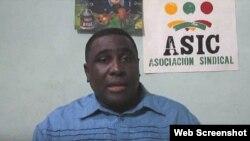 Iván Hernández Carrillo, sindicalista cubano.