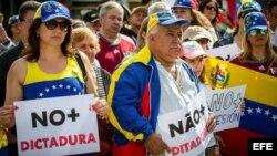 La Marcha del Silencio en Venezuela.