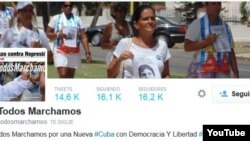 TodosMarchamos twitter Reporta Cuba