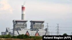 Planta de carbón de China en Serang, Banten, Indonesia. (Roland Siagian / AFP).