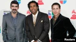Los miembros del grupo cubano Orishas, en una foto tomada en Las Vegas, en noviembre el 2007.