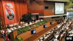 Foto de archivo de la inauguración del VI Congreso del Partido Comunista de Cuba el 16 de abril de 2011.