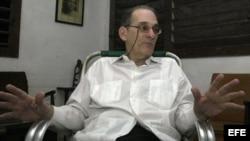Fotografía de archivo del disidente cubano René Gómez Manzano. EFE/Stringer