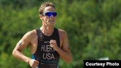Manny Huerta atleta de la selección olímpica de EE UU en Londres
