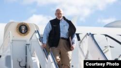 Llegada de Alan Gross a EEUU tras cinco años preso en Cuba.