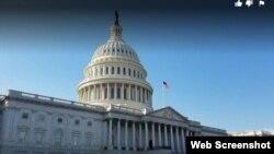Capitolio. Sede del Congreso de Estados Unidos.