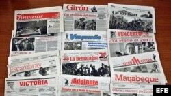 Freedom House señala que el gobierno posee el control de prácticamente todos los medios tradicionales de comunicación dentro de la isla.