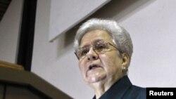 Gladys Bejerano, contralora de Cuba.