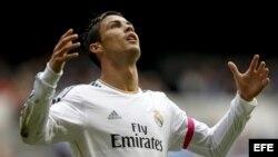 El delantero portugués del Real Madrid, Cristiano Ronaldo.