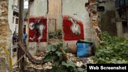 La artista Tania Bruguera se solidariza con grafitero cubano