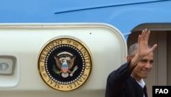 Los últimos minutos de Obama en Cuba.