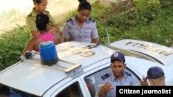 Vigilancia para impedir marchas en calles Cuba