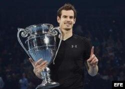Andy Murray, número 1 de la ATP.