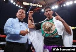 Rey Vargas, boxeador mexicano.