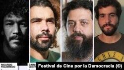 Póster del Festival de Cine por la Democracia, a celebrarse en Colombia.
