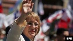 Michlle Bachelet, presidenta de Chile