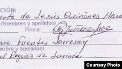 Notifican a abogado cubano
