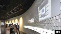 Museo de Samsung que ha inaugurado hoy en su sede central al sur de Seúl.