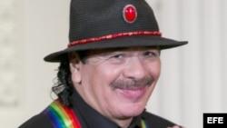 Carlos Santana en la Casa Blanca