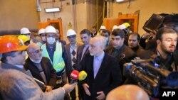 Reactor nuclear iraní en Arak, cerca de Teherán.
