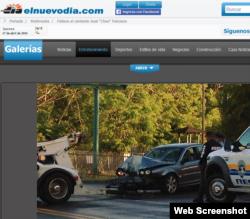 """El accidente de """"Cheo"""" Feliciano en elnuevodia.com."""