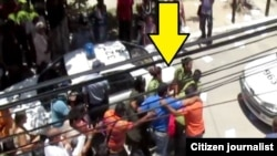 Represión en Cuba.