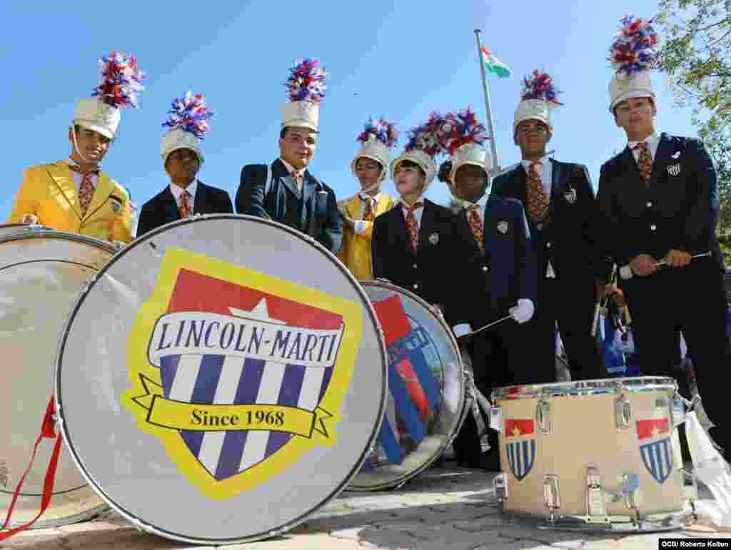 La Parada Escolar Martiana cumple 45 aniversario.