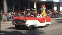 Desfile en Miami de los Tres Reyes Magos