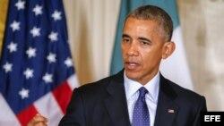 El presidente estadounidense, Barack Obama. EFE