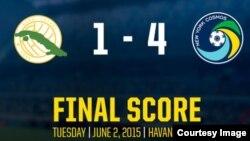 Cosmos vence a Cuba 4-1.