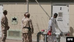 Centro de detención de la Base Naval de Guantánamo.