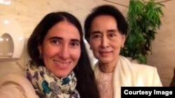 Yoani Sánchez y Aung San Suu Kyi