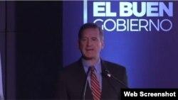 El administrador de USAID, Mark Green, durante su discurso en el Centro de Convenciones Gonzalo Jiménez de Quesada.