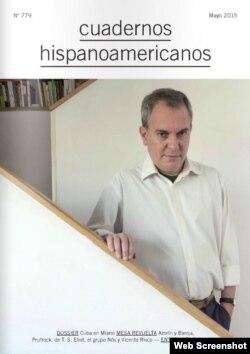 """Portada de mayo de la revista """"Cuadernos Hispanoamericanos""""."""