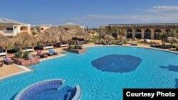 Uno de los hoteles que la cadena Meliá posee en Varadero.
