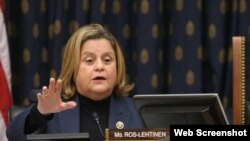 Ileana Ros-Lehtinen, congresista republicana por la Florida.