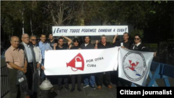 Opositores cubanos promueven frente a la ONU campaña ciudadana Por Otra Cuba